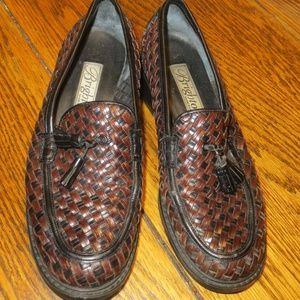 Brighton Basket Weave with Tassel Shoes